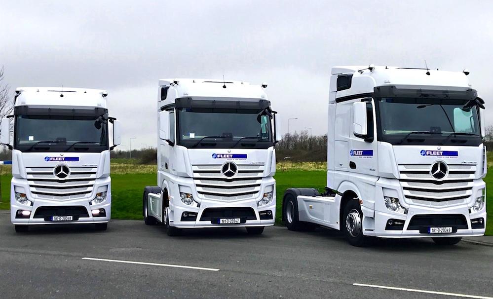 Mercedes benz actros additions see fleetplan boost fleet for Mercedes benz fleet